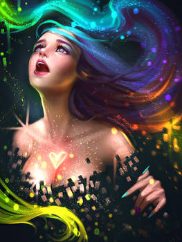 The colors of heart