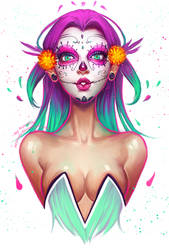 Sugar Skull by AyyaSAP