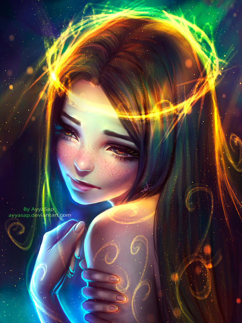 My colorful sadness by AyyaSAP