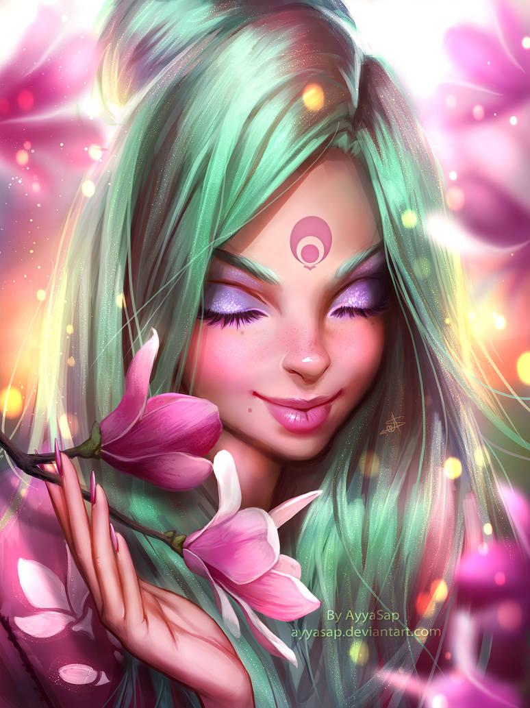 Mimi and magnolia