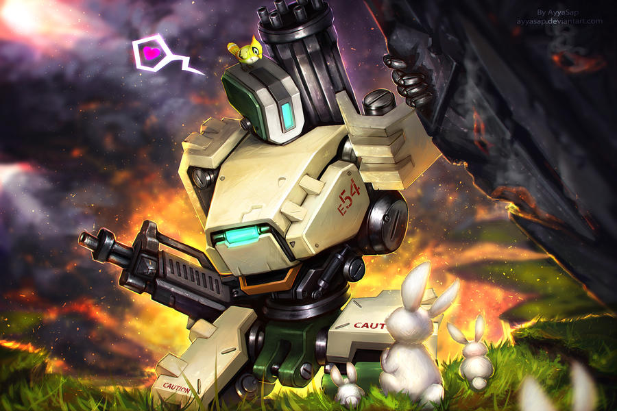 Bastion Commission by DeviantArt for BLIZZARD by AyyaSAP