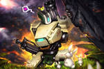 Bastion Commission by DeviantArt for BLIZZARD