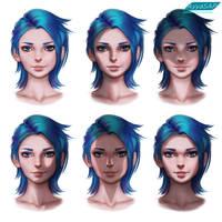 Shadow variations by AyyaSAP