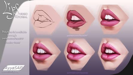 Lips by AyyaSAP
