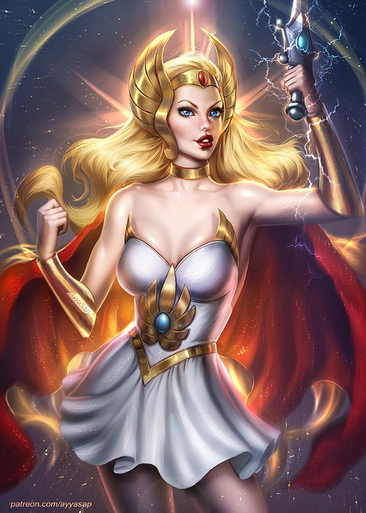 I AM SHE-RA! by planetbryan on DeviantArt