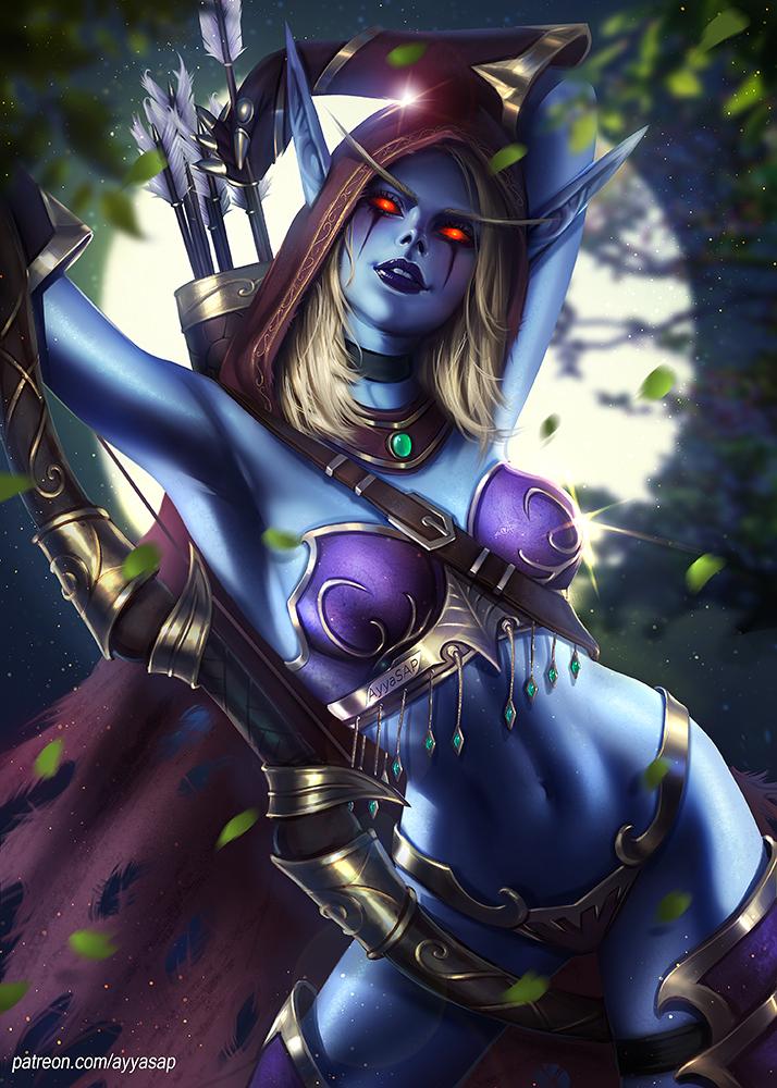 Lady Sylvanas by AyyaSAP