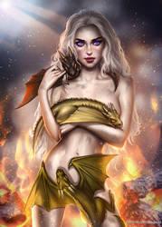 Daenerys Stormborn by AyyaSAP