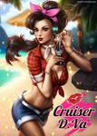 Cruiser DVa PinUp (Overwatch)