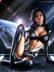 Miranda Lawson (Mass Effect) by AyyaSAP