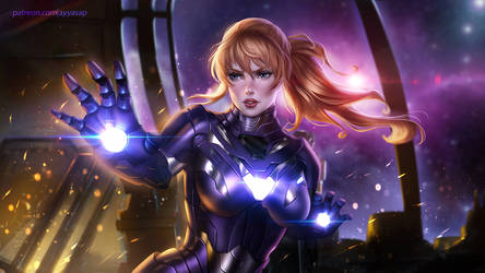 Pepper Potts ( RESCUE armor )