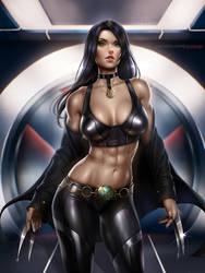 X-23 Laura Kinney by AyyaSAP