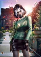 Rogue ( X-Men Evolution ) by AyyaSAP