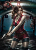 Claire Redfield by AyyaSAP