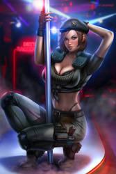 Pole Dancer Jill (Commission)