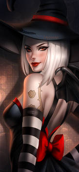 Halloween witch Ashe