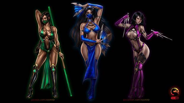 MK Girls Wallpaper