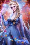 Queen Elsa (Frozen 2) by AyyaSAP