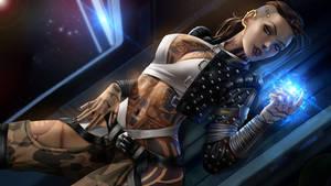 Subject Zero aka Jack (Mass Effect)