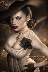 Alcina Dimitrescu (Tall Vampire Lady:RE Village)