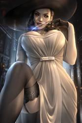 Lady Dimitrescu (Tall Vampire Lady:RE 8 Village)