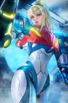 Samus Aran /Metroid Dread/ by AyyaSAP