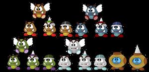 The Goomba Family Tree