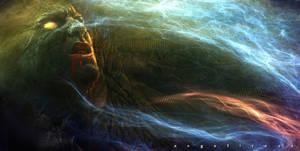 Dark energy by angelitoon