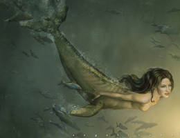 Mermaid by angelitoon