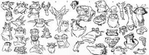 Comic Style drawings 3