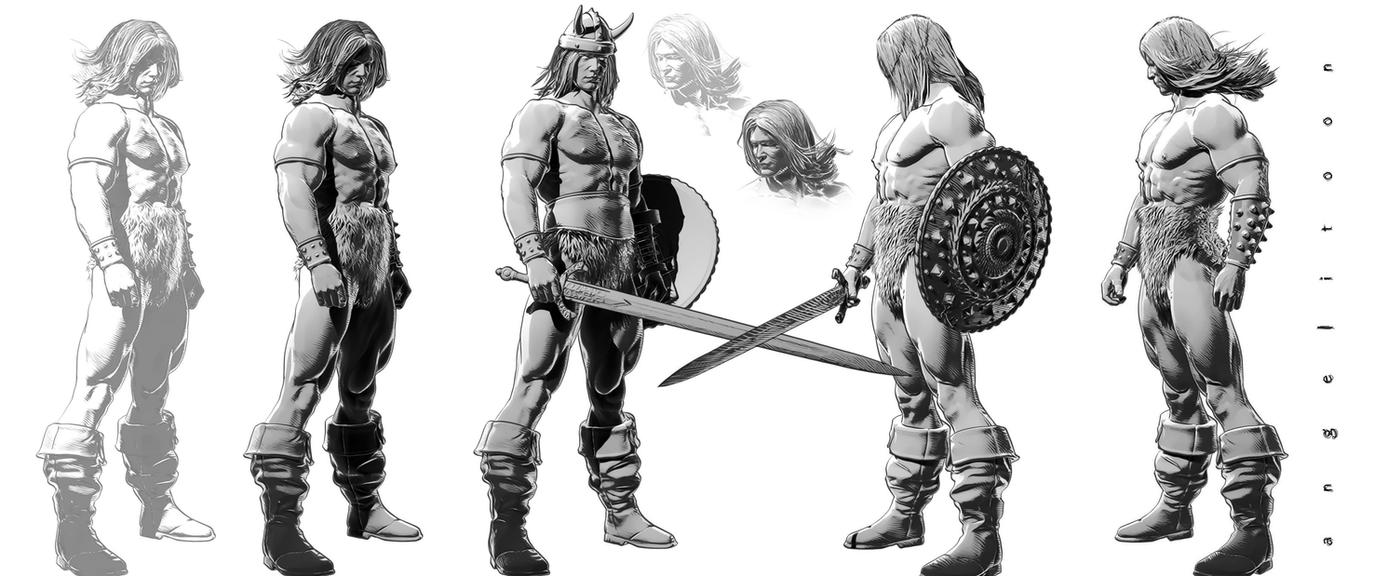 The barbarian 02 by angelitoon
