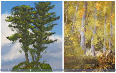 TREE STUDY 2 by angelitoon