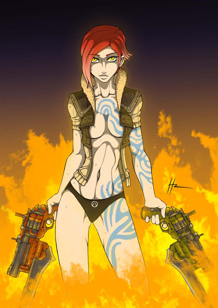 Borderlands Lilith By Blunt Katana