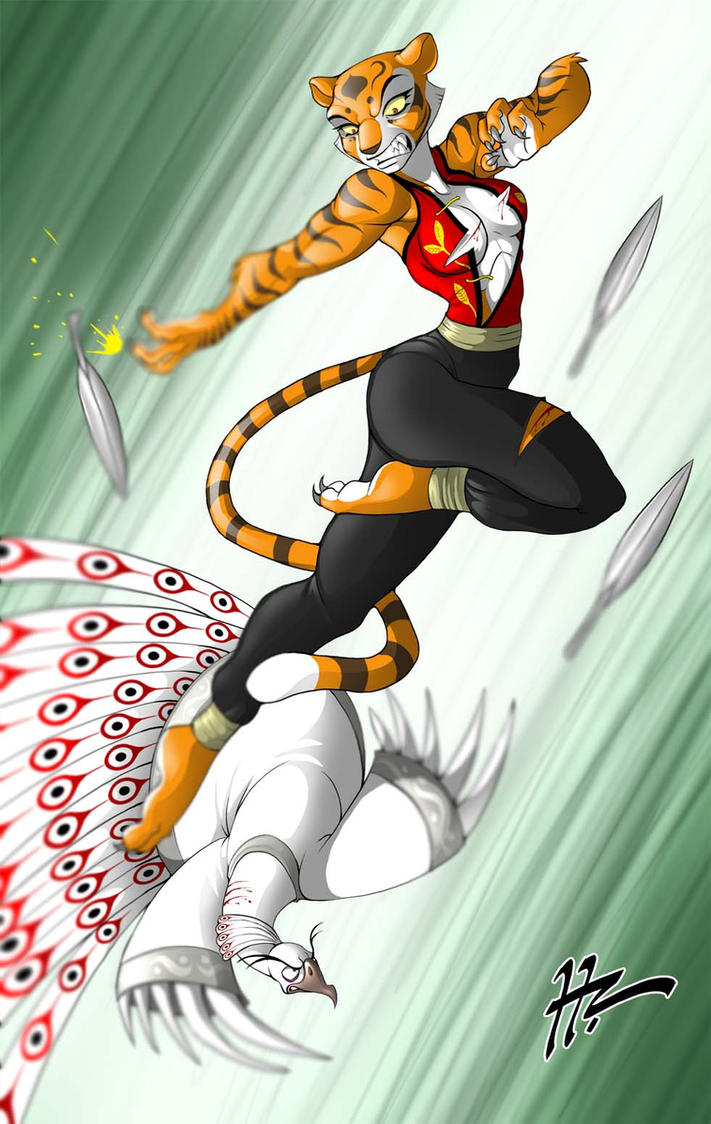 Tigress vs Shen Complete by Blunt-Katana on DeviantArt