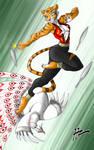 Tigress vs Shen Complete