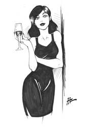 Sketch: Here's to you Mrs.Robinson
