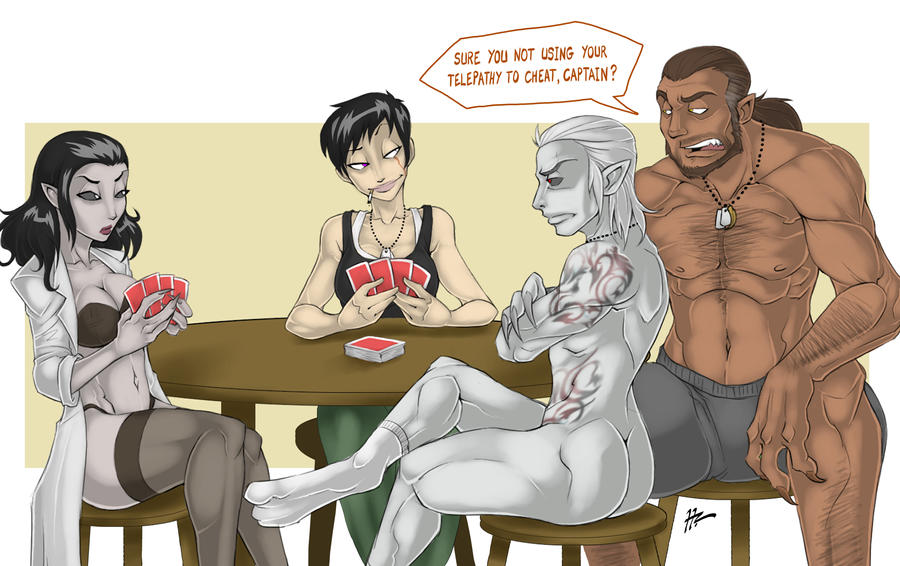 Strip Poker Skins style by Blunt-Katana