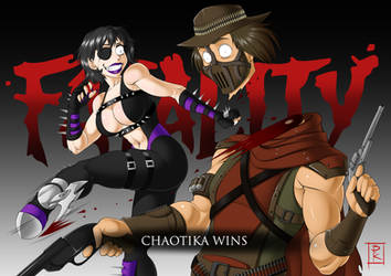 Commission: Fatality! by Blunt-Katana