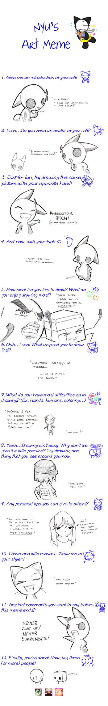 DinoSaurs - Art Meme by justflyakite