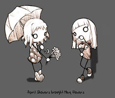 April brought May flowers