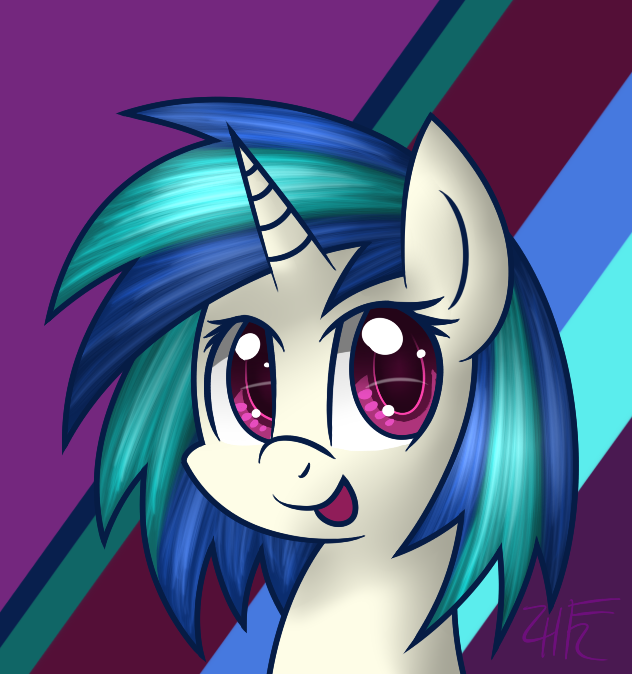 Vinyl Scratch by wildberry-poptart