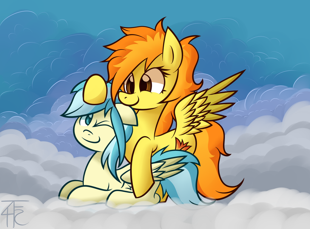 Misty Fly and Spitfire by wildberry-poptart