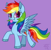 Rainbow Dashy by wildberry-poptart