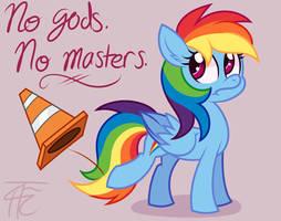 No Gods No Masters by wildberry-poptart