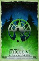 Star Wars Episode VI Return of the Jedi Poster by DanieleRedRossini