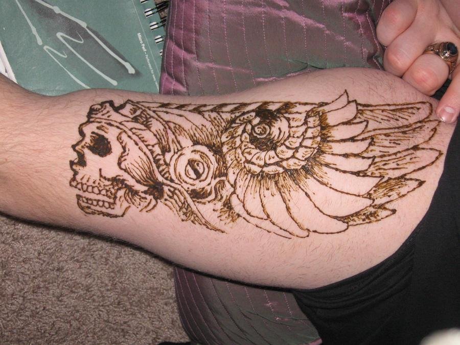 Skull Henna Tattoo: Henna Skull By CaptainMorganTeague On DeviantArt
