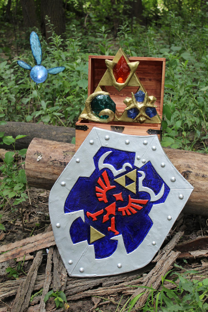 Ocarina of Time Prop Set by CaptainMorganTeague
