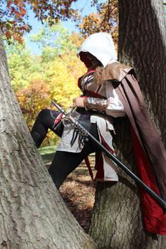 Female Ezio Auditore da Firenze Cosplay