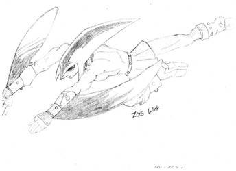 Zora Link!!!!!! by xXStarryAngelXx