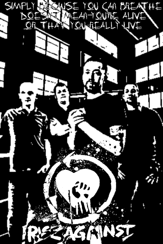 Rise Against IPhone Wallpaper By Kisterror