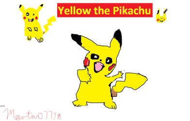 Yellow The Pikachu  by mewtwo7778